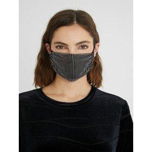 Mask Pack Night s kamínky Rouška Desigual Černá