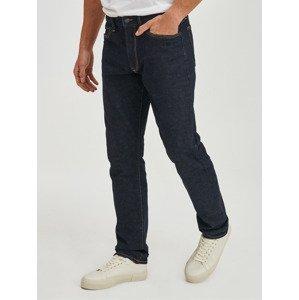 V-Straight Taper Saratoga Rinse Jeans GAP Modrá