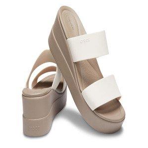Brooklyn Pantofle Crocs Bílá