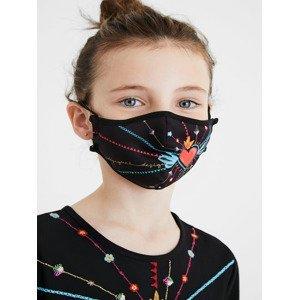 Mask Kids Inmyheart Rouška Desigual Černá
