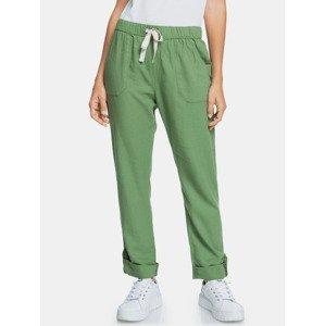 Kalhoty Roxy Zelená