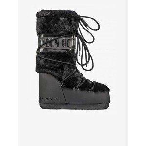 Icon Faux Sněhule Moon Boot Černá