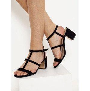 Sandále CAMAIEU Černá
