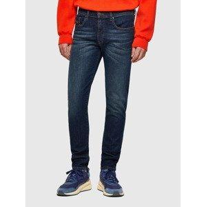 D-Strukt Jeans Diesel Modrá