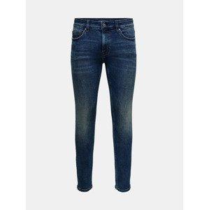 Warp Jeans ONLY & SONS Modrá