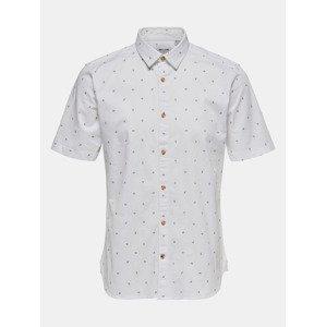 Košile ONLY & SONS Bílá
