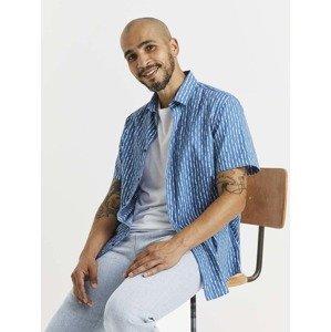 Košile Celio Modrá
