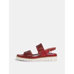 Sandále Tamaris Červená
