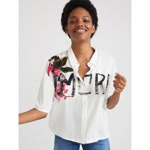 Amore Košile Desigual Bílá