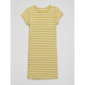 Šaty dětské GAP Žlutá