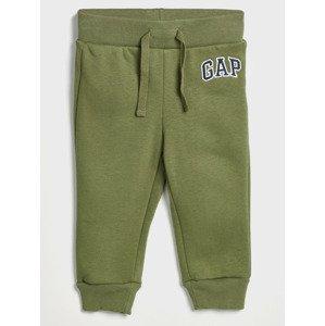 Tepláky dětské GAP Zelená