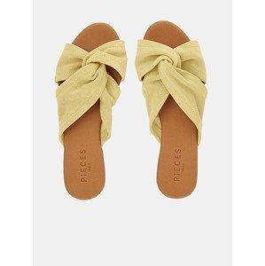 Nellie Pantofle Pieces Žlutá