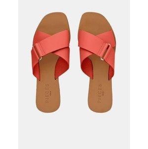 Nea Pantofle Pieces Červená