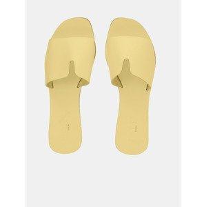 Nora Pantofle Pieces Žlutá