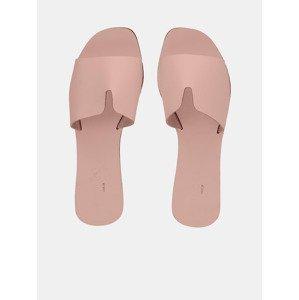 Nora Pantofle Pieces Růžová