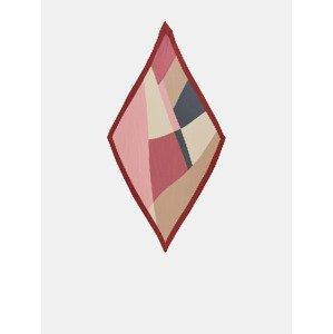 Lexis Šátek Pieces Červená