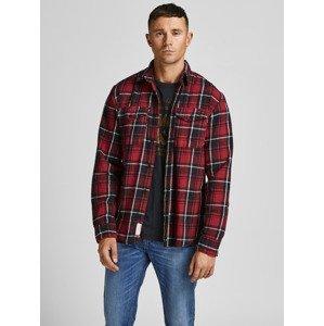 Bluwoodland Košile Jack & Jones Červená