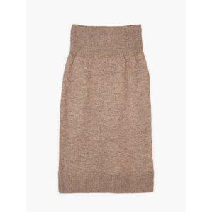 GATE Pletená melírovaná midi sukně dámská